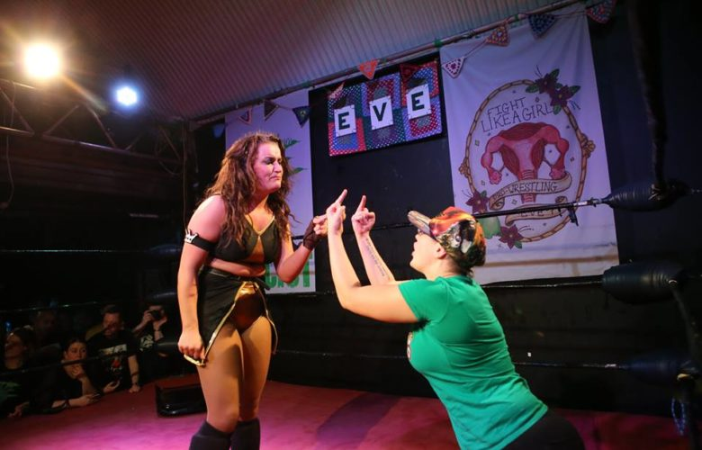 Eve Wrestling - City Countdown, London
